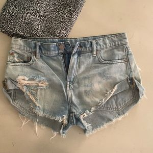 BDG size 24 Jean shorts gently used